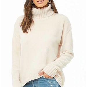 Beige super soft sweater
